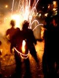 Fuochi d'artificio freddi Immagini Stock