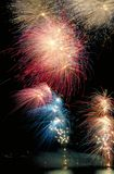 Fuochi d'artificio galore Fotografia Stock Libera da Diritti