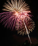 Fuochi d'artificio I Fotografie Stock Libere da Diritti