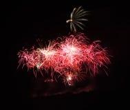 Fuochi d'artificio III immagini stock libere da diritti