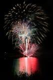 Fuochi d'artificio III fotografie stock libere da diritti