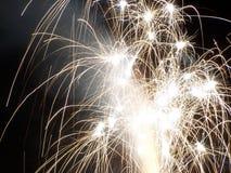 Fuochi d'artificio luminosi II Immagine Stock