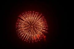 Fuochi d'artificio nel Giappone 1 Fotografie Stock Libere da Diritti