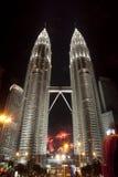 Fuochi d'artificio sul nuovo anno 2012 di celebrazione Immagine Stock