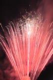 Fuochi d'artificio tradizionali giapponesi Fotografie Stock