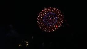 Fuochi d'artificio V Fotografie Stock Libere da Diritti