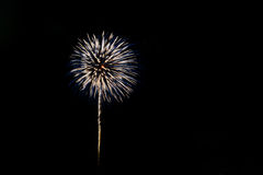Fuochi d'artificio variopinti Immagini Stock Libere da Diritti