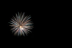 Fuochi d'artificio variopinti di celebrazione Fotografia Stock Libera da Diritti