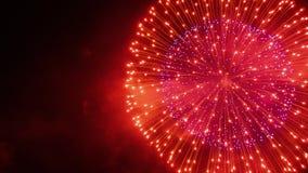 Fuochi d'artificio VIII Fotografie Stock Libere da Diritti