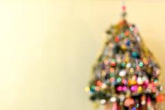 Fuochi di un albero 2 del nuovo anno Immagini Stock