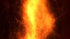 Fuoco astratto dettagliato vibrante della fiamma fotografie stock