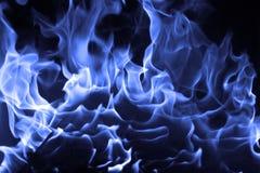 Fuoco blu Fotografie Stock Libere da Diritti
