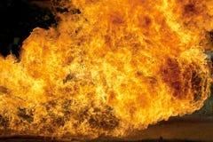 Fuoco bruciante Fotografia Stock Libera da Diritti