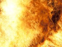Fuoco bruciante Immagine Stock