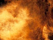 Fuoco bruciante Fotografia Stock