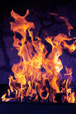 Fuoco Burning immagine stock