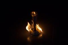 Fuoco con fuoco Fotografia Stock