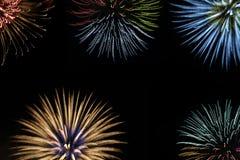 Fuoco d'artificio Fotografie Stock