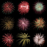 Fuoco d'artificio Fotografie Stock Libere da Diritti