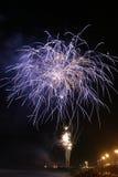 Fuoco d'artificio Immagini Stock