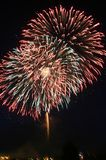 Fuoco d'artificio Fotografia Stock
