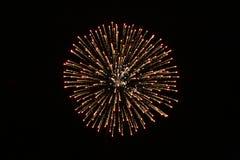 Fuoco d'artificio 2 Fotografie Stock Libere da Diritti