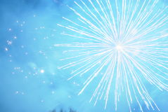 Fuoco d'artificio Immagine Stock Libera da Diritti