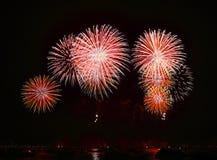 Fuoco d'artificio Immagini Stock Libere da Diritti