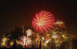 Fuoco d'artificio 5 Fotografia Stock