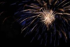 Fuoco d'artificio Immagine Stock