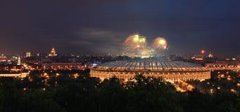 Fuoco d'artificio celebratorio Immagini Stock Libere da Diritti