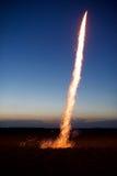 Fuoco d'artificio che fa saltare fuori Fotografia Stock Libera da Diritti