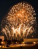 Fuoco d'artificio della Taiwan Immagine Stock Libera da Diritti