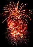 Fuoco d'artificio di celebrazione Fotografia Stock