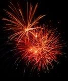 Fuoco d'artificio di cerimonia nuziale Immagine Stock
