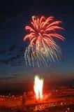 Fuoco d'artificio di colore Immagine Stock Libera da Diritti