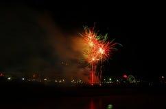 Fuoco d'artificio di Feasta Immagini Stock