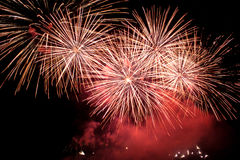 Fuoco d'artificio di festa. Fotografia Stock Libera da Diritti