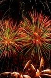 Fuoco d'artificio di festival Fotografia Stock Libera da Diritti