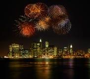 Fuoco d'artificio isolato Fotografia Stock Libera da Diritti
