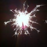 Fuoco d'artificio luminoso Fotografia Stock Libera da Diritti