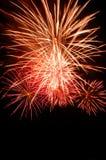 Fuoco d'artificio naturale con lo spazio della copia Fotografia Stock Libera da Diritti