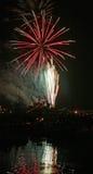 Fuoco d'artificio perfetto Fotografia Stock