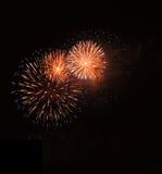 Fuoco d'artificio a Praga! Immagini Stock Libere da Diritti