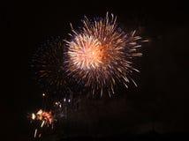 Fuoco d'artificio a Praga V Fotografia Stock