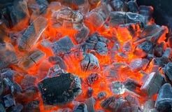 Fuoco del barbecue Fotografia Stock Libera da Diritti