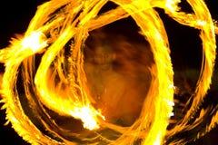 Fuoco del briciolo di ballo Fotografie Stock Libere da Diritti