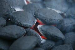 Fuoco del carbone Fotografia Stock