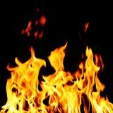 Fuoco dell'inferno Fotografie Stock