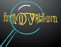 Fuoco dell'innovazione Immagini Stock